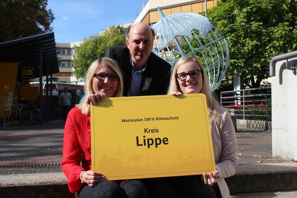 Mit Schwung und ganz viel positiver Energie gestartet: Laura Schuster, Markus Herbst und Laureen Falke (von links)